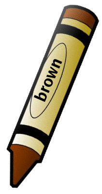 Brown Crayon Clipart | Clipart Panda - Free Clipart Images