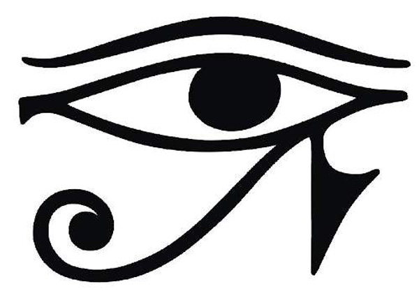 Line Drawing Eye : Eye of horus is the ancient clipart panda free images
