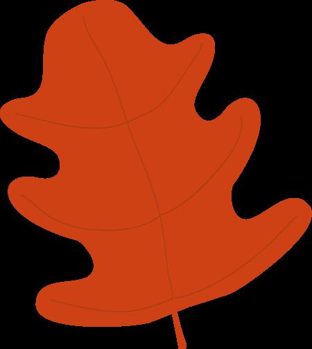 Brown Fall Leaf Clipar...