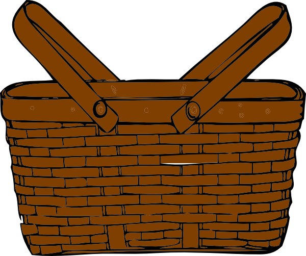 Brown Picnic Basket Clipart | Clipart Panda - Free Clipart ...