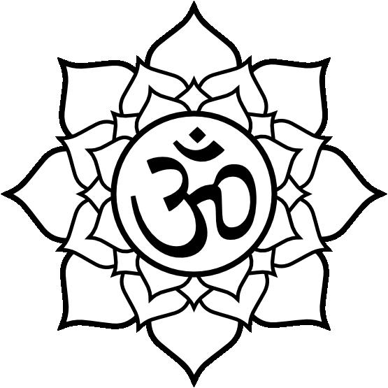 brownies-clipart-black-and-white-lotus_aum_black_white_line_flower_art ...