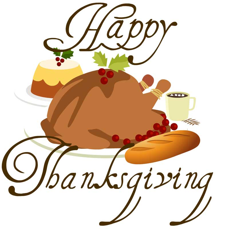 happy thanksgiving clip art - photo #8