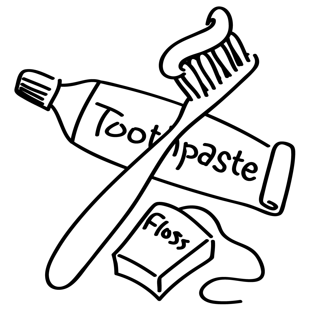 Brushing Teeth Clipart Clipart