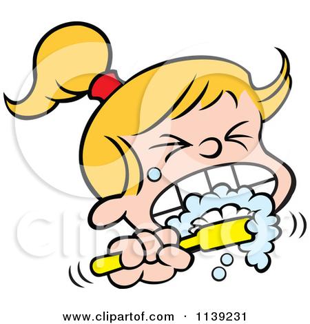 Clip Art Brush Teeth Clip Art boy brushing teeth clipart panda free images