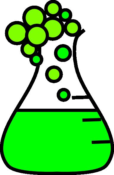Chemistry Beaker Bubbling