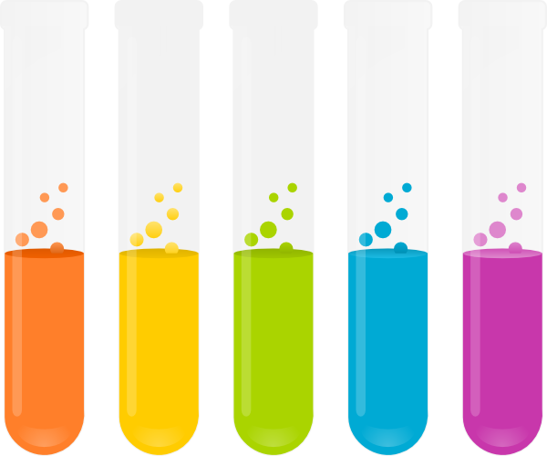 clipart test tubes and beakers - photo #2