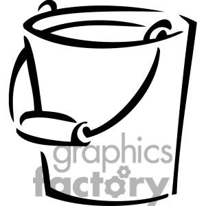 Sand Bucket Clipart Black And White Clipart Panda Free Clipart