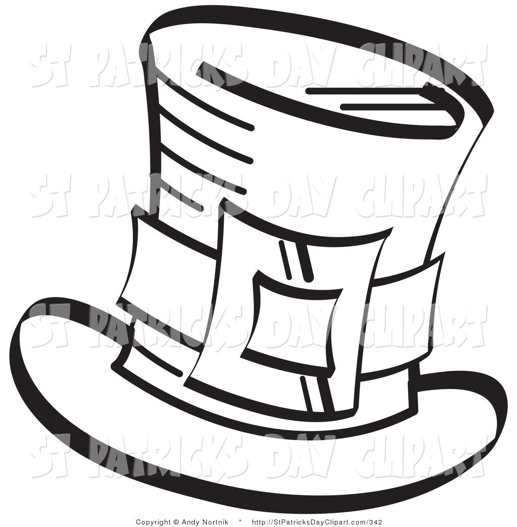 Top Hat Coloring Page Clipart Panda Free Clipart Images