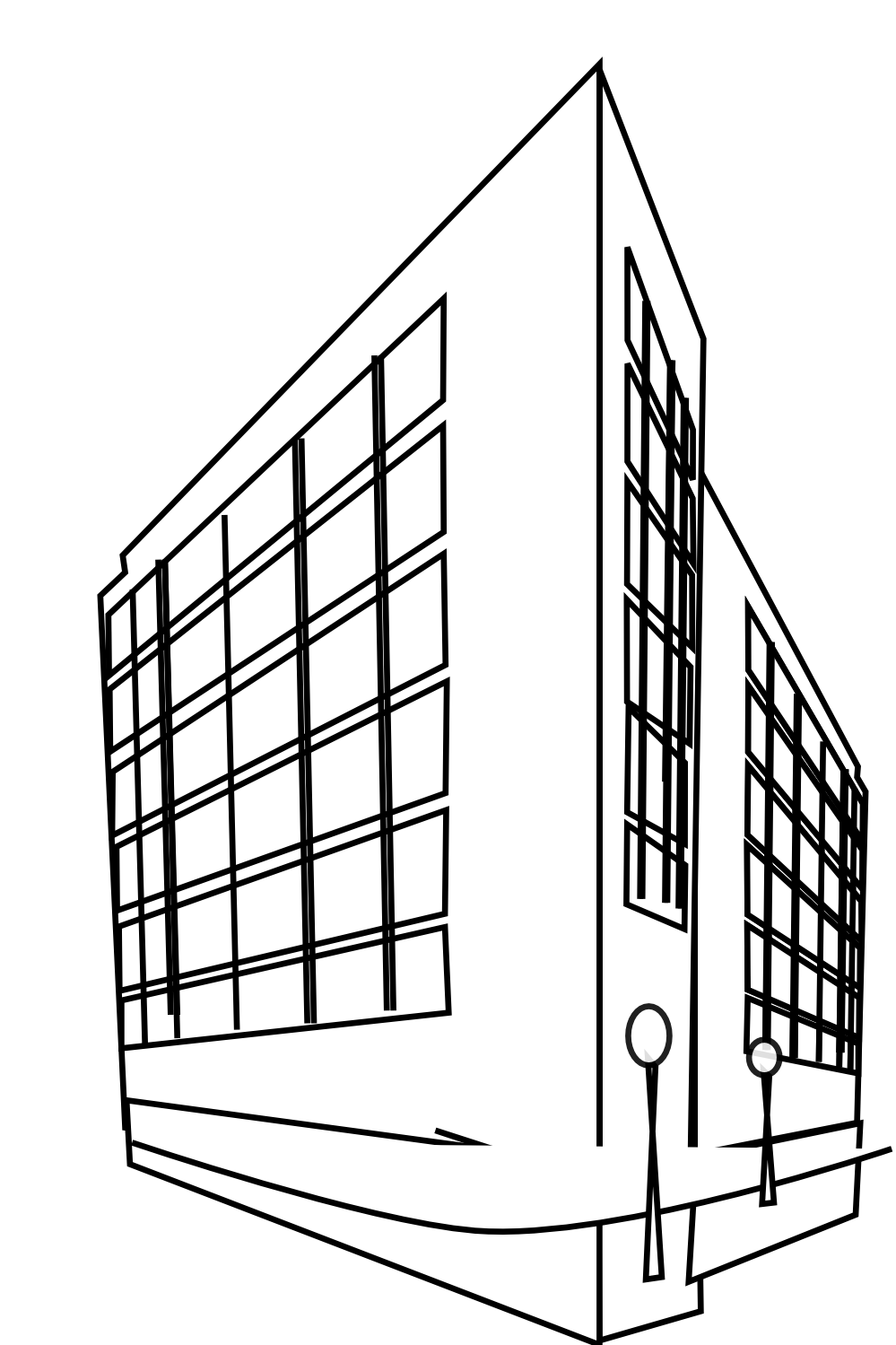 Building Clipart Black And White | Clipart Panda - Free ...