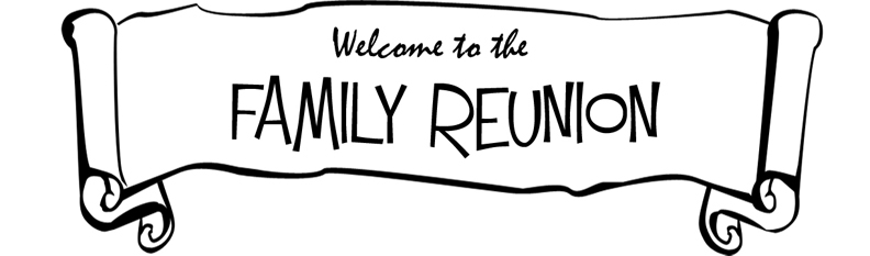 family reunion clipart black and white clipart panda