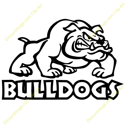 Bulldog Mascot Basketball on georgia bulldogs football logo