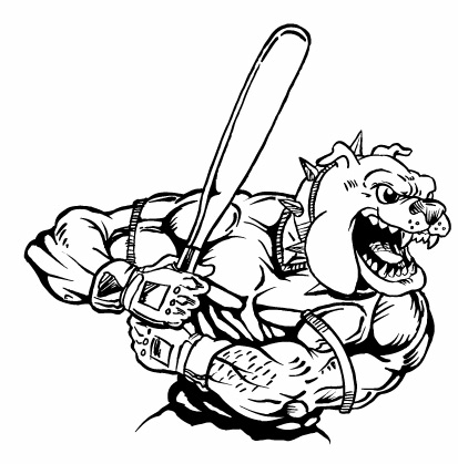Bulldogs baseball logo - photo#25