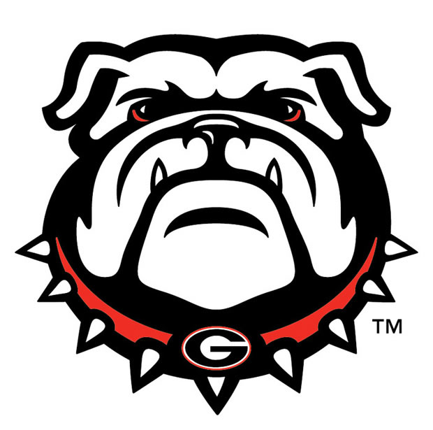 Cool Football H... Georgia Bulldog Clipart Logo