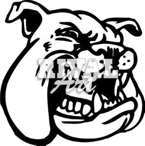 Bulldog Football Mascot Clipart | Clipart Panda - Free ...