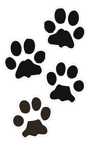 dog paw print clip art free download clipart panda free clipart rh clipartpanda com free clipart dogs playing free clipart dogs playing