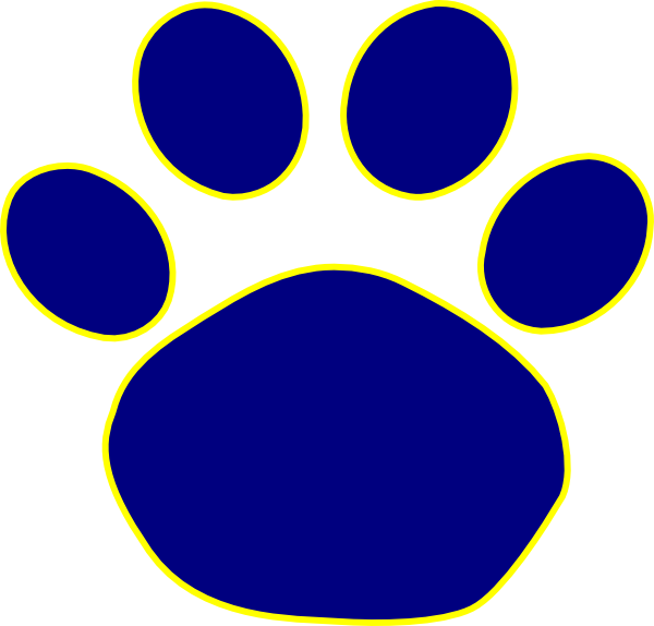 Paw Print Clip Art Vector Clip | Clipart Panda - Free Clipart Images