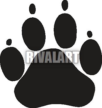 Watch more like Bulldog Paw Print