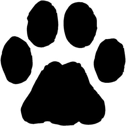 bulldog paw print clipart panda free clipart images rh clipartpanda com