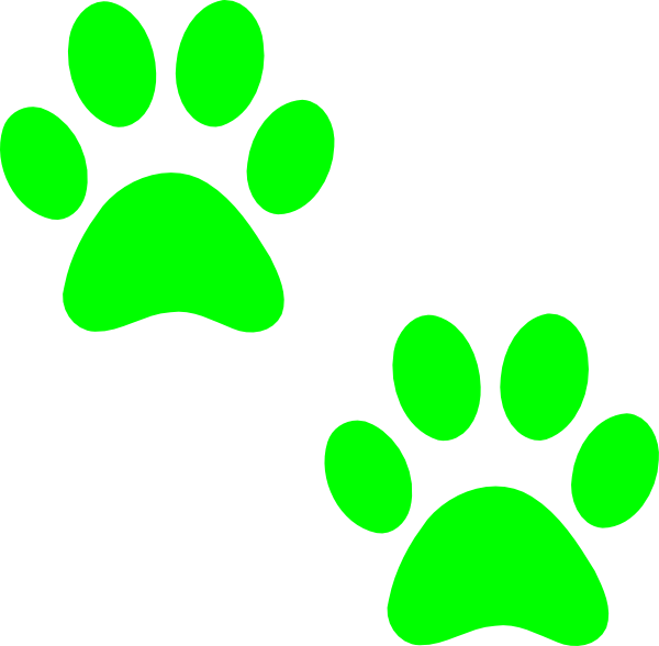 image relating to Free Printable Paw Prints titled Bulldog Paw Print Clipart Panda - Free of charge Clipart Pics