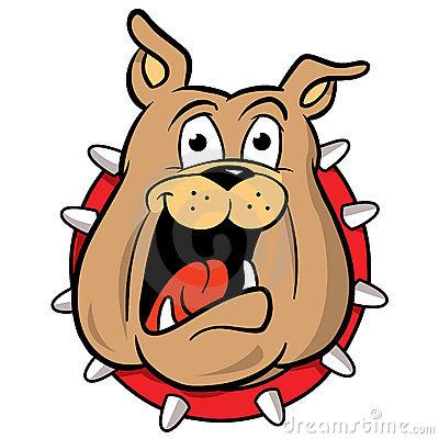 Spike Collar Dog Cartoon