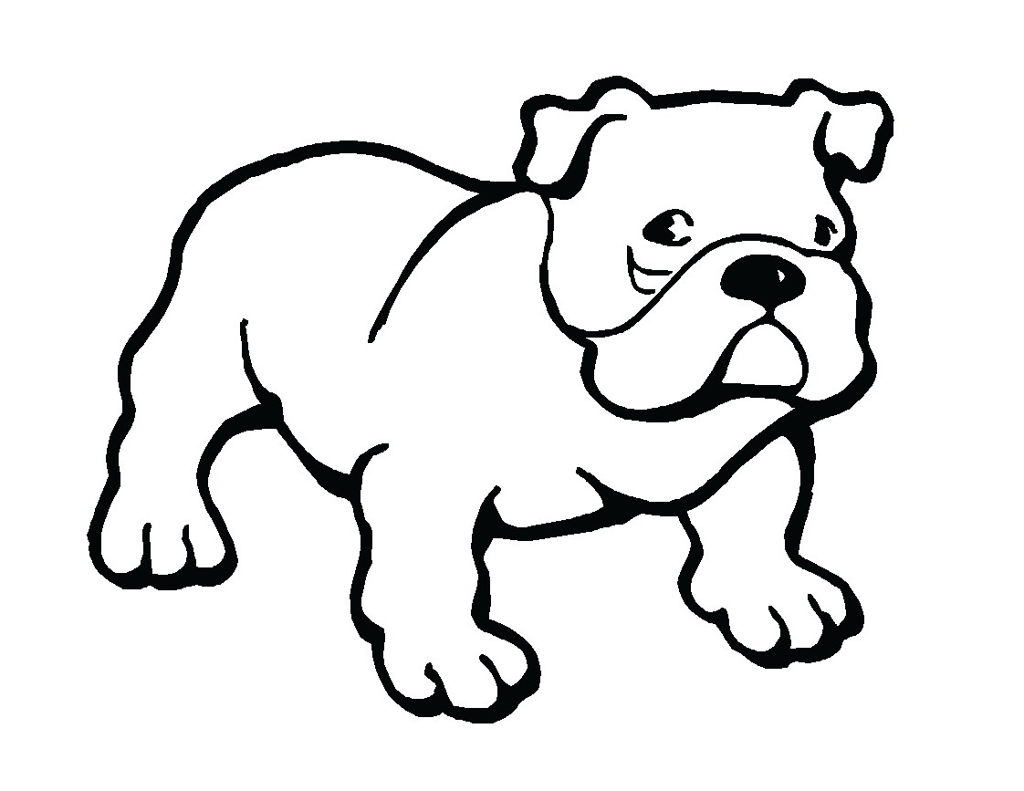 Cute Bulldog Drawing | Clipart Panda - Free Clipart Images