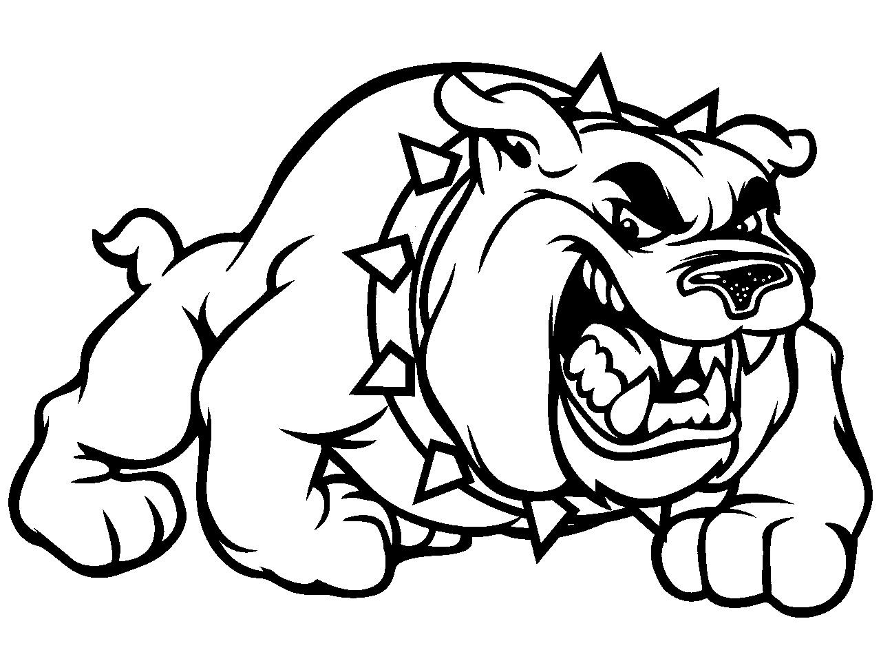 Bulldog Puppy Drawing Clipart