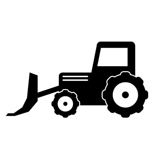 bulldozer 20clipart clipart panda free clipart images Tractor Silhouette Clip Art tractor trailer clipart black and white