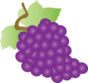 Bunch Of Grapes Clipart