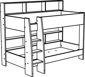 Diy Bunk Bed Drawings Plans Free