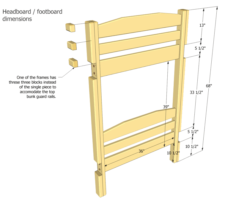 Bunk Bed With Drawers Building Plans