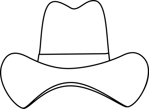 -clipart-black-and-white-hat-clipartblack-and-white-simple-cowboy-hat ...