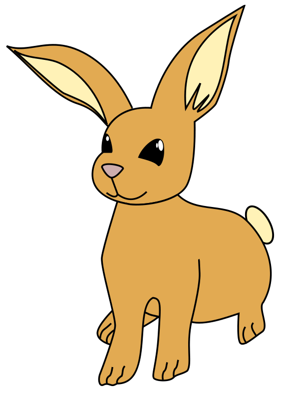 Rabbit Running Clipart | Clipart Panda - Free Clipart Images