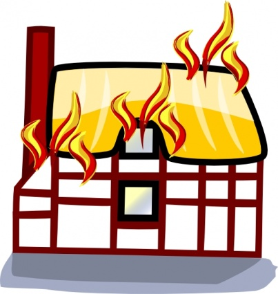 House Fire Cartoon | Clipart Panda - Free Clipart Images