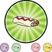 Burrito - clipart graphic