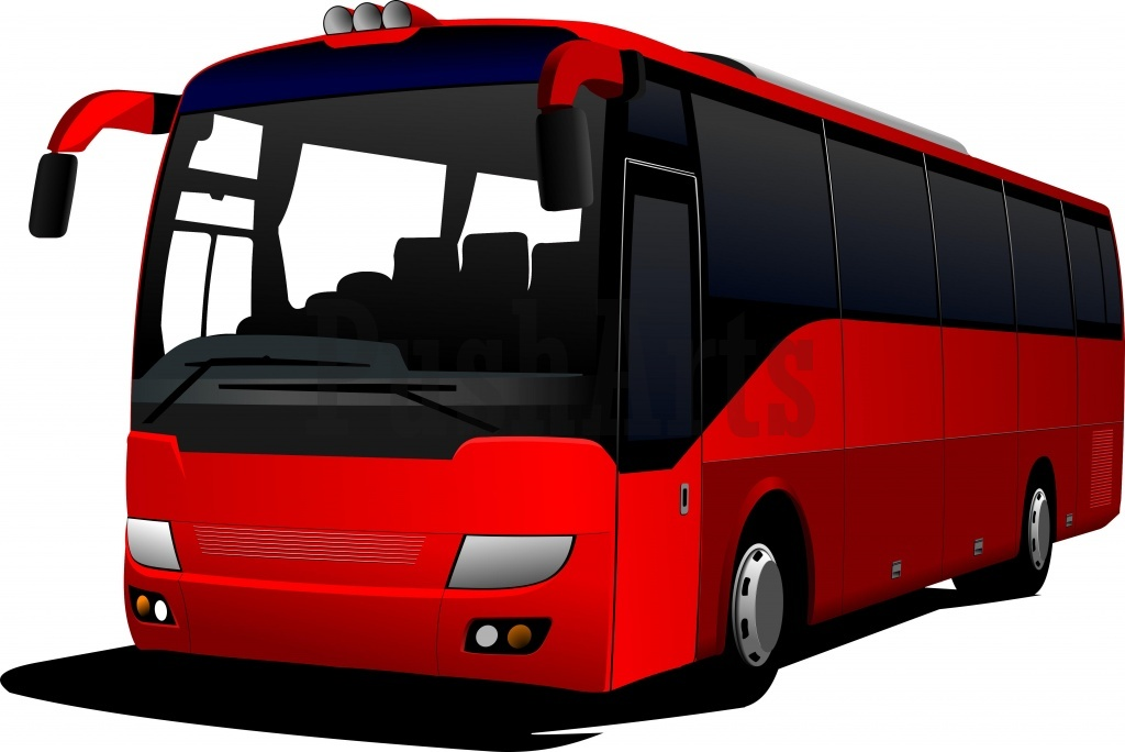 Bus Clipart Black And White | Clipart Panda - Free Clipart Images