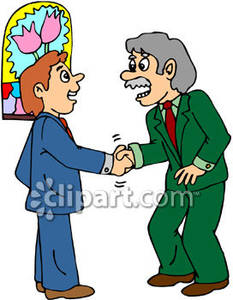 Business People Shaking Hands Clip Art | Clipart Panda - Free ...