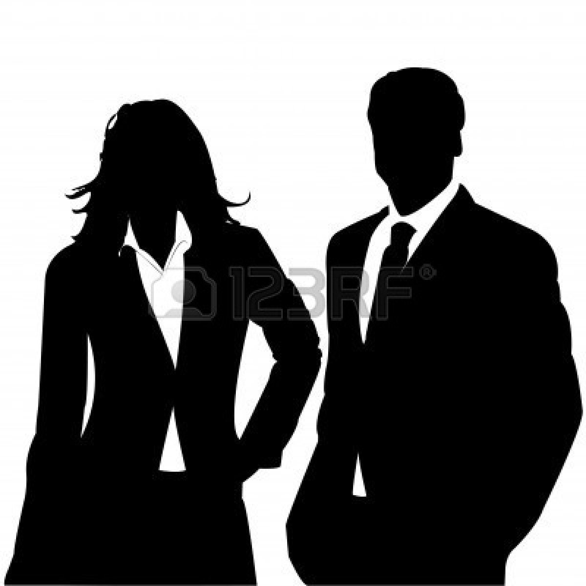 People Clipart Silhouette Business | Clipart Panda - Free ...