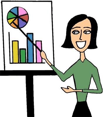 business presentation clip art