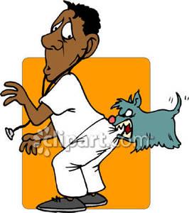 Man Bites Dog Cartoon