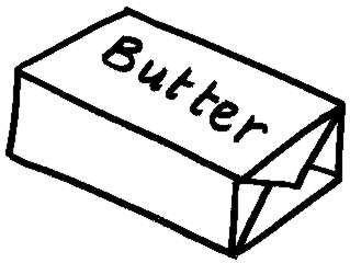Clip Art Butter Clipart stick of butter clipart panda free images
