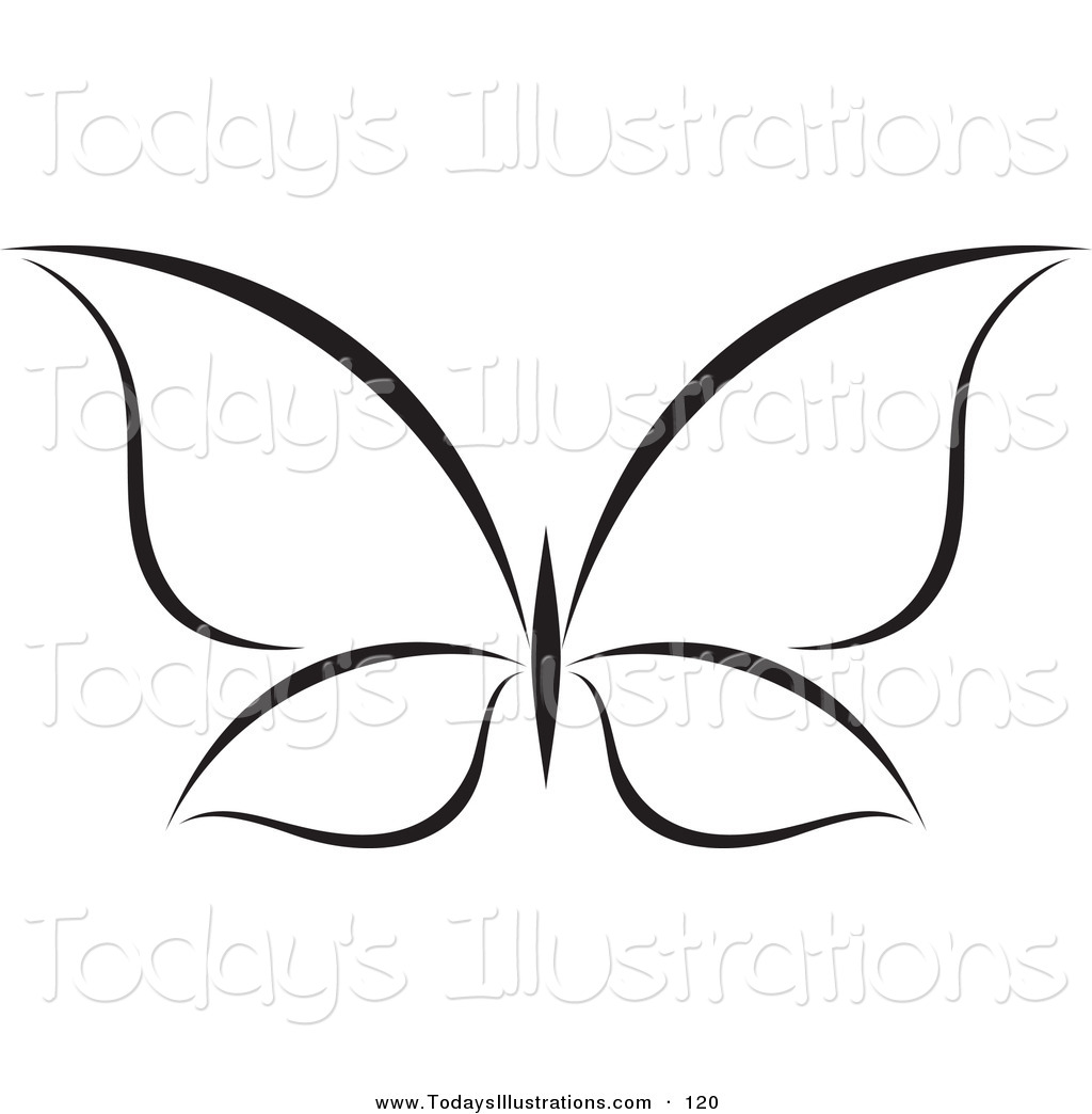 butterfly clipart black and white clipart panda free clipart images rh clipartpanda com Butterfly Outline Clip Art Free Black and White Art