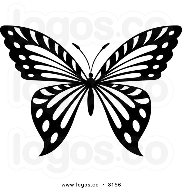 butterfly clipart black and white clipart panda free clipart images rh clipartpanda com Black and White Butterfly Outline Black and White Art