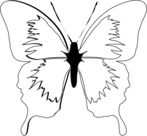 butterfly clipart black and white clipart panda free clipart images rh clipartpanda com butterfly clipart black and white free butterfly clipart black and white free