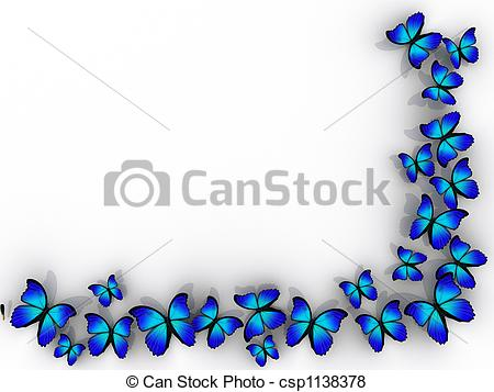 Butterfly Clipart Border Clipart Panda Free Clipart Images