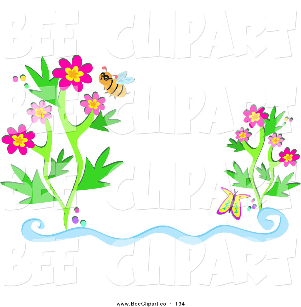 Clipart Flowers And Butterflies Border | Clipart Panda - Free Clipart ...