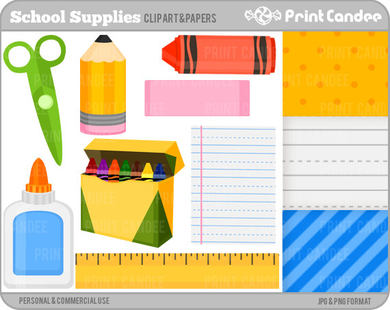 school supplies clipart free clipart panda free clipart images rh clipartpanda com free clipart pictures of school supplies school supplies clipart free black and white