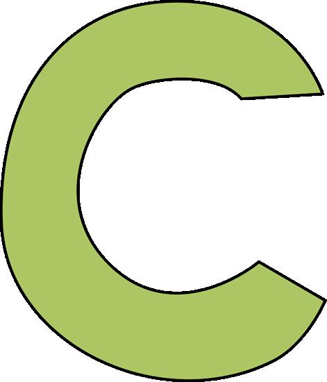 green letter c clip art image clipart panda free clipart images rh clipartpanda com letter c clipart free fancy letter c clipart