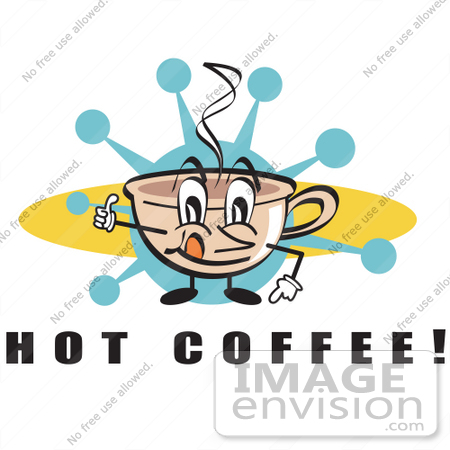Cafe Building Clipart Clip Art Of A Happy Coffee
