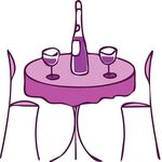 Cafe Table And Chairs Clipart | Clipart Panda - Free Clipart Images