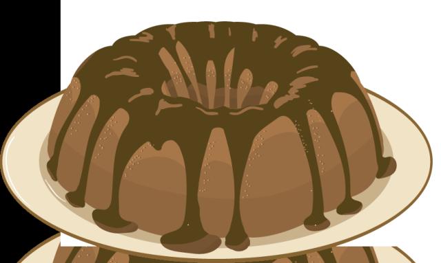 Bundt Cake Clip Art